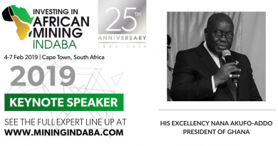Mining Indaba confirms President of Ghana as Keynote speaker for 25th Anniversary celebration in 2019