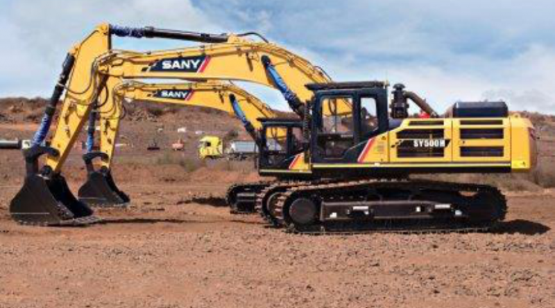 GEM Kathu supplies three SANY excavators to the AMG Group