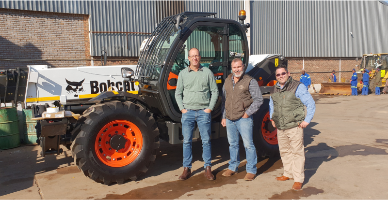 Bobcat Kathu establishes long-standing relationship with Olivier Beton