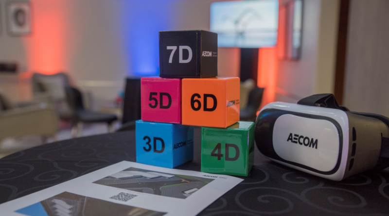 AECOM showcases 'The Digital Future' of the construction industry