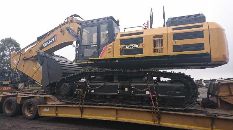 E&J Construction acquires largest excavator in Africa from GEM