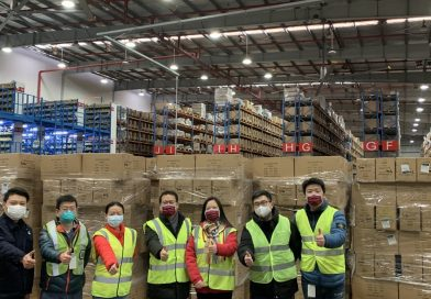 Global teamwork procures masks for Cummins employees in China
