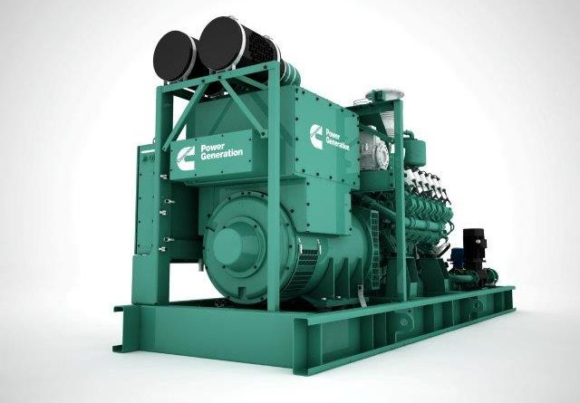 Cummins scales up the gas-power game with the new C25G natural-gas generator series