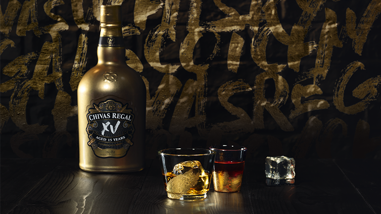 CHIVAS XV Launched in Zambia amidst glitz, glam and everything gold