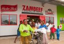 ZAMBEEF CHAISA AND NDOLA CITY CENTRE MACROS CHEER CUSTOMERS
