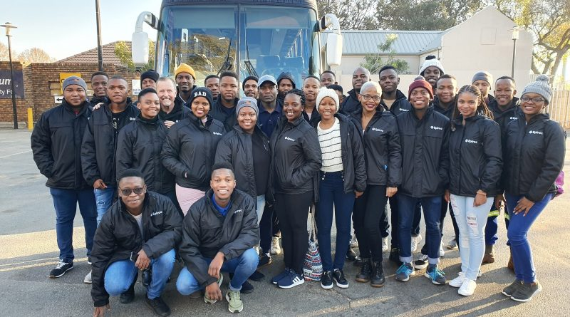 Epiroc wraps Wits students in warmth during their mine tour